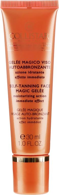 Nawilżający żel samoopalający do twarzy - Collistar Self Tanning Face Magic Gelee — фото N2