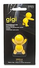 Kup Odświeżacz do samochodu - Mr&Mrs Gigi Car Freshener Yellow Vanilla