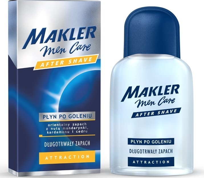 Płyn po goleniu - Makler Attraction After Shave