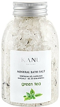 Kup Sól mineralna do kąpieli Zielona herbata - Kanu Nature Mineral Green Tea Bath Salt