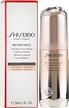 Kup Antyoksydacyjne serum rozświetlające do twarzy - Shiseido Benefiance Wrinkle Smoothing Contour Serum