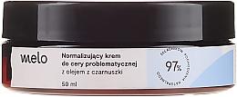 Kup Normalizujący krem do cery problematycznej z olejem z czarnuszki - Melo