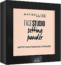 Kup Matujący puder do twarzy - Maybelline Facestudio Setting Powder