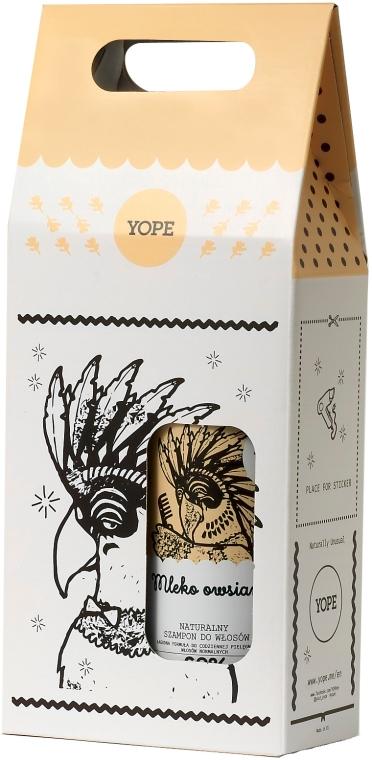 Zestaw do włosów - Yope Mleko owsiane (shm 300 ml + cond 170 ml) — фото N1