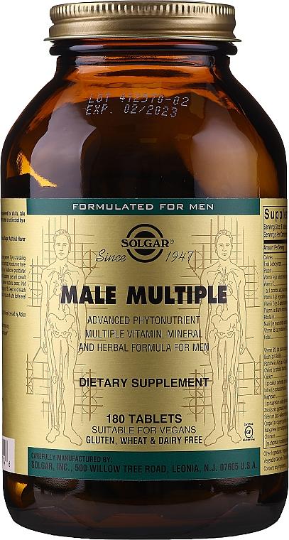 Witaminy dla mężczyzn - Solgar Male Multiple — фото N1