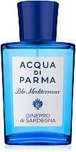 Kup PRZECENA! Acqua di Parma Blu Mediterraneo Ginepro di Sardegna - Woda toaletowa (tester z nakrętką) *