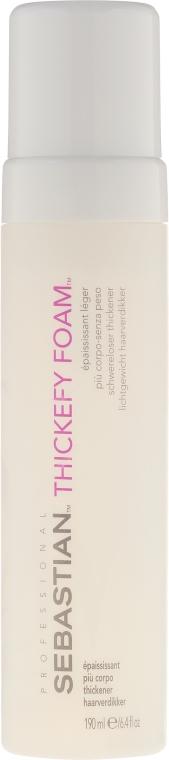 Pianka zwiększająca objętość włosów - Sebastian Professional Thickefy Foam