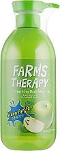 Kup Żel pod prysznic Zielone jabłuszko - Farms Therapy Sparkling Body Wash Green Apple