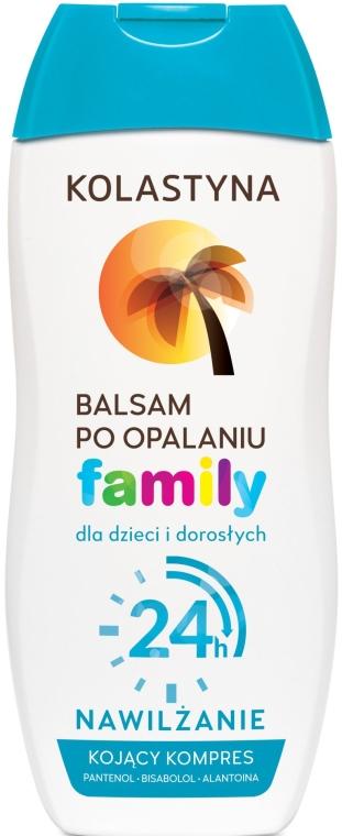 Balsam po opalaniu dla dzieci i dorosłych 24-godzinne nawilżenie - Kolastyna