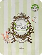 Kup Balansująca maseczka do twarzy Zielona herbata - A:t fox Balancing Green Tea Mask