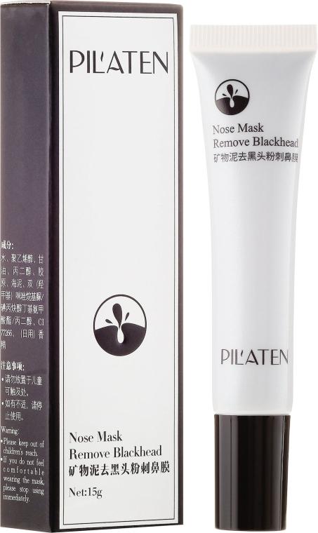 Oczyszczająca maska przeciw czarnym zaskórnikom - Pilaten Remove Blackhead Nose Mask