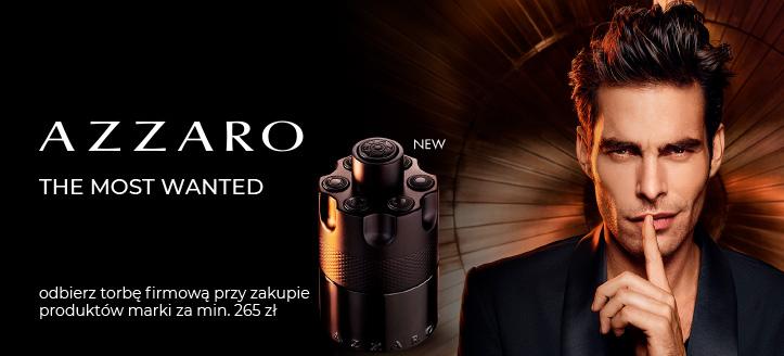 Kup produkty Azzaro za min. 265 zł, a torbę firmową otrzymasz w prezencie.