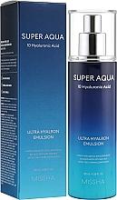 Kup Nawilżająca emulsja do twarzy - Missha Super Aqua Ultra Hyalron Emulsion