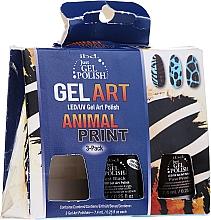 Kup PRZECENA! Zestaw - IBD Just Gel Polish Animal Print Gel Art(nail/lacquer/7,4mlx3) *
