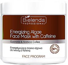 Kup Energetyzująca maska algowa do twarzy z kofeiną - Bielenda Professional Mask
