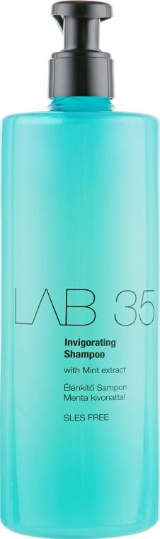 Odświeżający szampon stymulujący porost włosów - Kallos LAB 35 Invigorating Shampoo — фото N1
