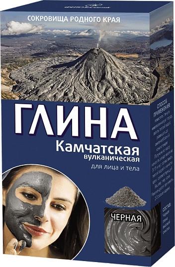 Kamczacka wulkaniczna glinka czarna do twarzy i ciała - FitoKosmetik