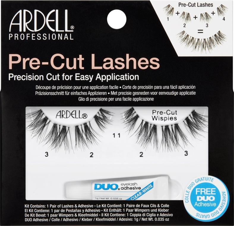 Sztuczne rzęsy - Ardell Pre-Cut Wipies Lashes — фото N1