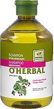 Kup Wygładzający szampon do włosów z ekstraktem z malin Lustrzany blask - O'Herbal