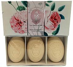 Kup Zestaw mydeł toaletowych Róża majowa - La Florentina Rose Of May Hand Soap Set