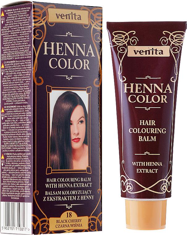 PRZECENA! Balsam koloryzujący z ekstraktem z henny - Venita Henna Color * — фото N1