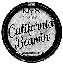 Rozświetlacz wzmacniający blask - NYX Professional Makeup California Beamin' Glow Booster — фото N1
