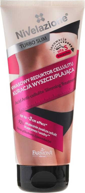 Kuracja wyszczuplająca Kwasowy reduktor cellulitu - Farmona Nivelazione Turbo Slim — фото N2