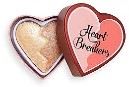 Kup Podwójny rozświetlacz do policzków - I Heart Revolution Heart Breakers Powder Highlighter