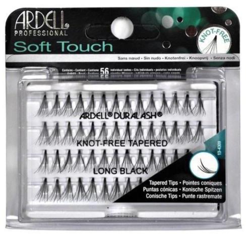 Kępki rzęs - Ardell Soft Touch Knot Free Long Black