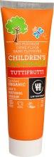 Kup Organiczna pasta do zębów dla dzieci Wieloowocowa - Urtekram Children's Toothpaste Tuttifrutti