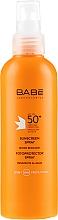 Kup Spray fotoprotekcyjny SPF 50+ - Babé Laboratorios Photoprotection Spray