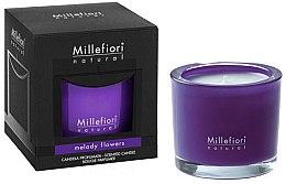 Kup Świeca zapachowa Melodia kwiatów - Millefiori Milano Natural Candle Melody Flowers