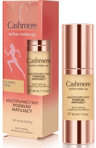 Multifunkcyjny podkład matujący - Dax Cashmere Active Make-Up Mattifying Foundation
