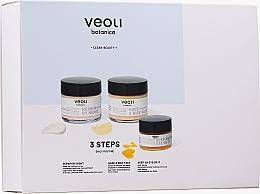 Kup Zestaw - Veoli Botanica 3 Steps Daily Routine (f/cr 60 ml + f/cr 60 ml + eye/cr 15 ml)