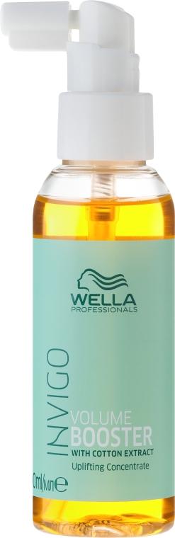 Booster-koncentrat nadający włosom objętość - Wella Professionals Invigo Volume Boost Booster — фото N2
