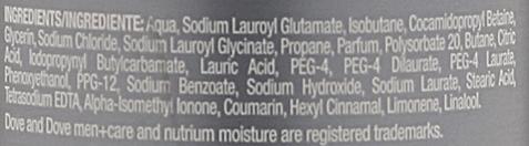 Pianka do mycia ciała 3 w 1 dla mężczyzn - Dove Men + Care Clean Comfort Shower Foam — фото N3