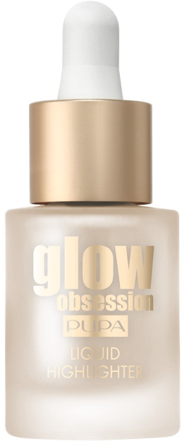 Rozświetlacz do twarzy - Pupa Glow Obsession Liquid Highlighter  — фото N1