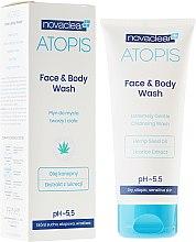 Kup Delikatny płyn do mycia twarzy i ciała - Novaclear Atopis Face & Body Wash