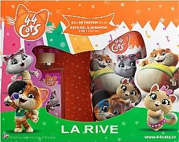 Kup La Rive 44 Cats - Zestaw (edp 50 ml + sh/gel 250 ml)