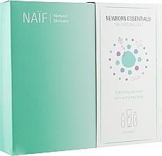 Kup Zestaw - Naif Newborn Essentials the Natural Gift (b/oil/100ml + b/cr/75ml + b/oil/100ml)