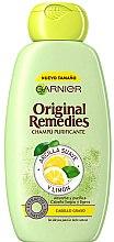 Kup Szampon do włosów przetłuszczających się Glinka i cytryna - Garnier Original Remedies Clay and Lemon Shampoo