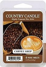 Kup Wosk zapachowy do kominków - Country Candle Coffee Shop Wax Melts