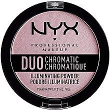 Kup Rozświetlacz-róż do twarzy - NYX Professional Makeup Duo Chromatic Illuminationg Powder