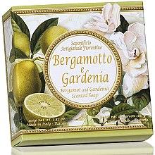 Kup Naturalne mydło w kostce Mandarynka i gardenia - Saponificio Artigianale Fiorentino Capri Bergamot & Gardenia Soap