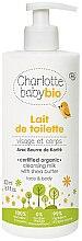 Kup Oczyszczające mleczko do ciała - Charlotte Baby Bio Cleansing Milk