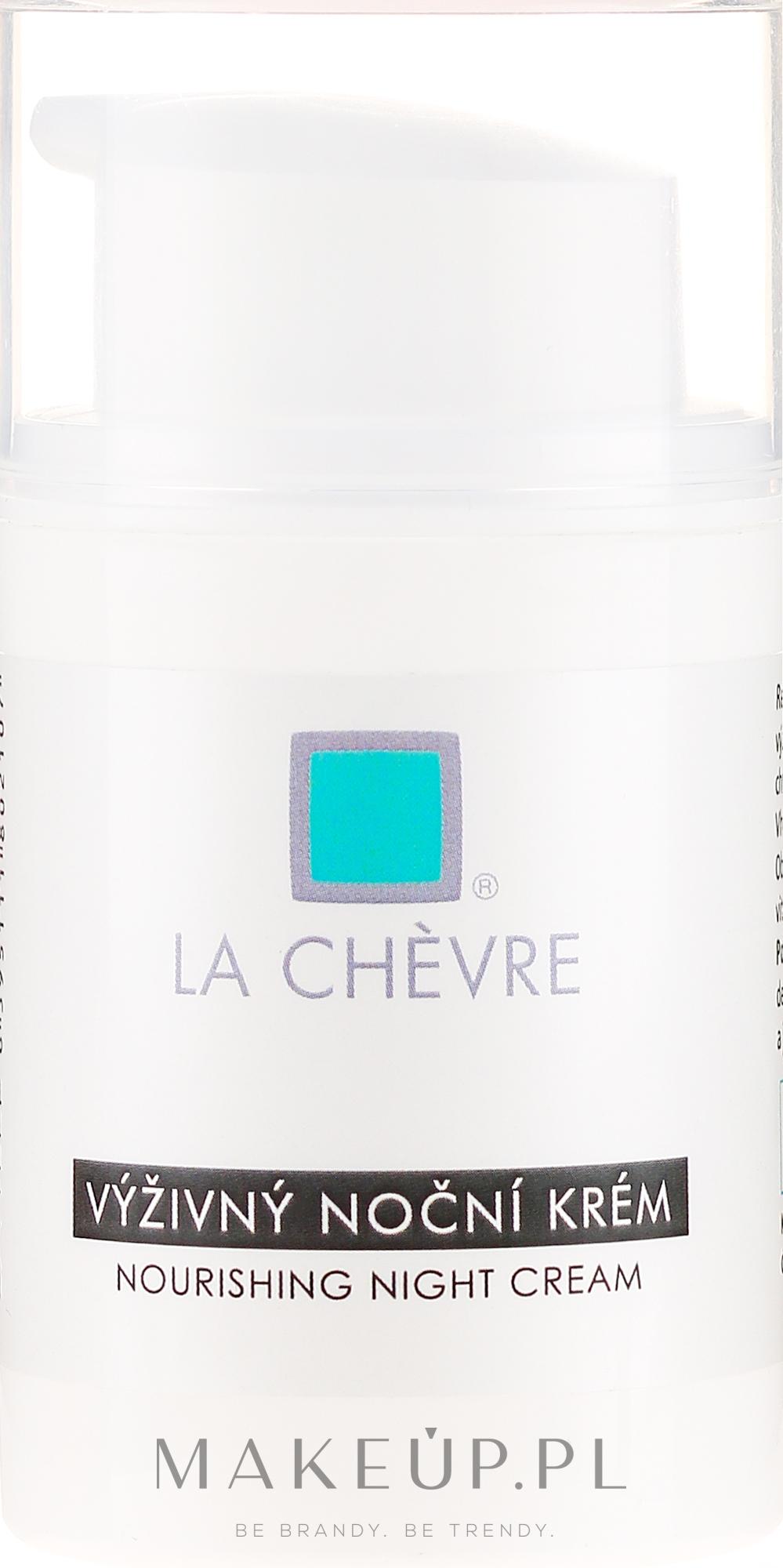 Odżywczy krem do twarzy na noc - La Chévre Épiderme Nourishing Night Cream — фото 50 g