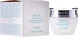 Kup Rozświetlający krem do twarzy na dzień SPF 20 - Oriflame NovAge Bright Sublime Advanced Brightening Day Cream