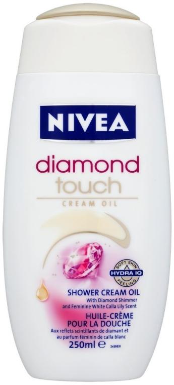 Kremowy żel pod prysznic Diamond Touch - Nivea Bath Care Diamond Touch Shower Gel — фото N1