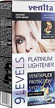 Kup Rozjaśniacz do włosów o 9 tonów - Venita Plex Platinum Lightener