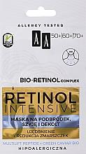 Kup Ujędrniająca maska na podbródek, szyję i dekolt - AA Retinol Intensive Bio-Retinol Complex 50+ 60+ 70+ Mask